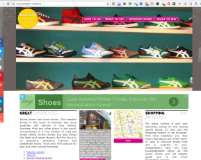Sneakers-street.hk - small travel site