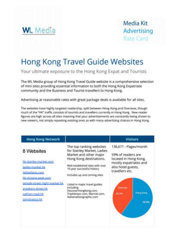 WL Media Travel Guide Network Rate Card
